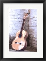 Framed Guitar 2