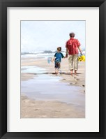 Framed Beach Combers