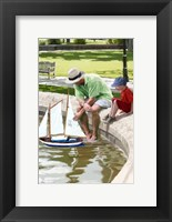 Framed Boating Lake