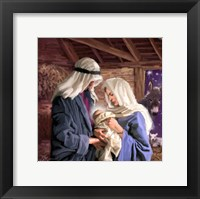Mary And Joseph Framed Print