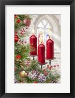 Framed Church Candles
