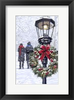 Framed Couple And Lantern