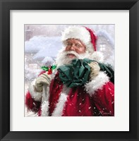 Framed Santa Without Badge