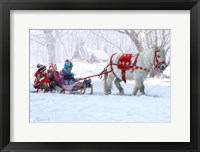 Framed Chrimas Pony Ride