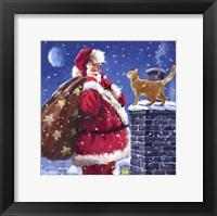 Framed Santa 8
