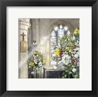 Framed Church Flowers