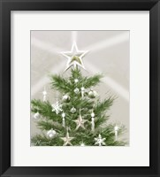 Framed Christmas Star