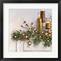 Framed Gold Candles 2