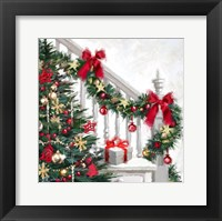 Framed Xmas Staircase