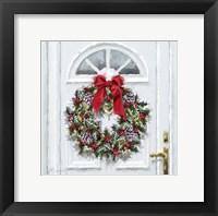 Framed Traditional Wreath