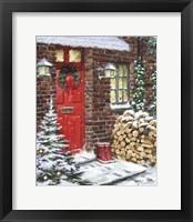 Framed Winter Logs