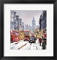 Framed Whitehall In Snow