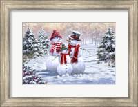 Framed Snow Family 2