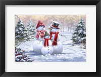 Framed Snow Family 2