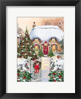 Framed Winter Cottages 1