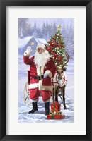 Framed Santa 10