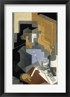 Framed Le Tourangeau [Man from the Touraine], 1918