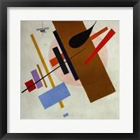 Framed Suprematism, c 1917