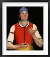 Framed Workwoman, 1933