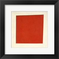 Framed Red Square, 1915