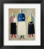 Framed Three Women, c. 1923