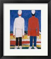 Framed Two Male Figures, 1928-1932