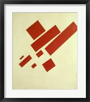 Framed Eight Red Rectangles, 1915