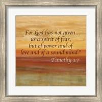 Framed Horizons Spice Scripture Sayings I