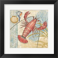 Oceana I Framed Print