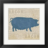 Framed Farm Animals III