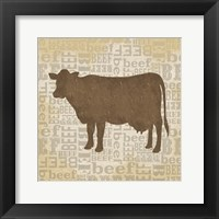 Farm Animals IV Framed Print