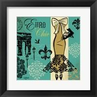 Euro Chic II Framed Print