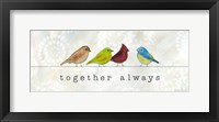 Birds of a Feather II Framed Print