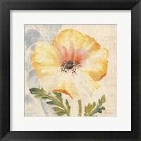 Watercolor Poppies II Framed Print