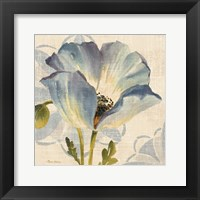 Watercolor Poppies IV Framed Print