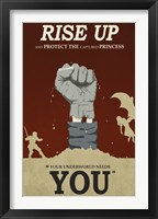 Framed Rise Up