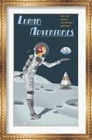 Framed Lunar Adventures