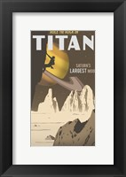 Framed Rock Climbing On Titan
