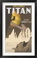 Framed Rock Climbing On Titan