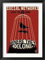Framed Social Networkingred
