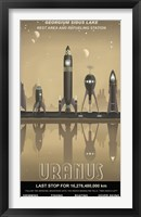 Framed Uranus Rest Stop