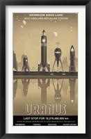 Framed Uranus Rest Stop