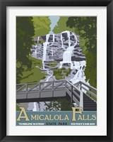 Framed Amicaola Falls