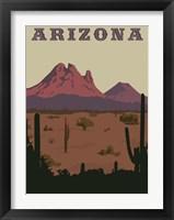 Framed Arizona