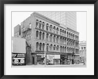 Framed Iron Block, 205 East Wisconsin Avenue, Milwaukee, Milwaukee County, WI