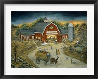 Framed Barn Dance At O'Flannery Farm