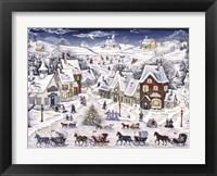 Framed Christmas Sleigh Parade
