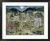 Framed Witches Of Black Mountain