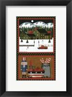 Framed Christmas Past