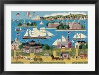 Framed Harbor of Hope B
